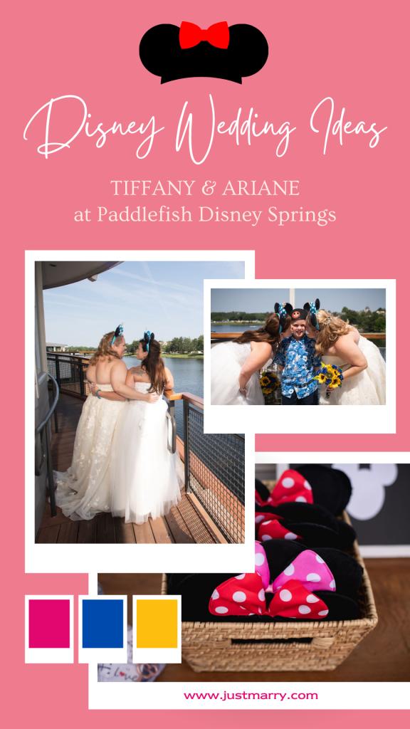 Disney Wedding Ideas - Just Marry Weddings - Nova Imagery - Paddlefish - Pinterest Graphic