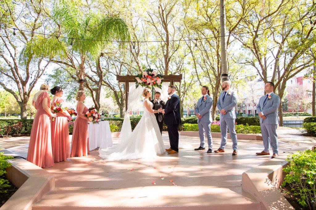 Disney Wedding - Just Marry Weddings - David and Vicki Arndt Photography - Ceremony