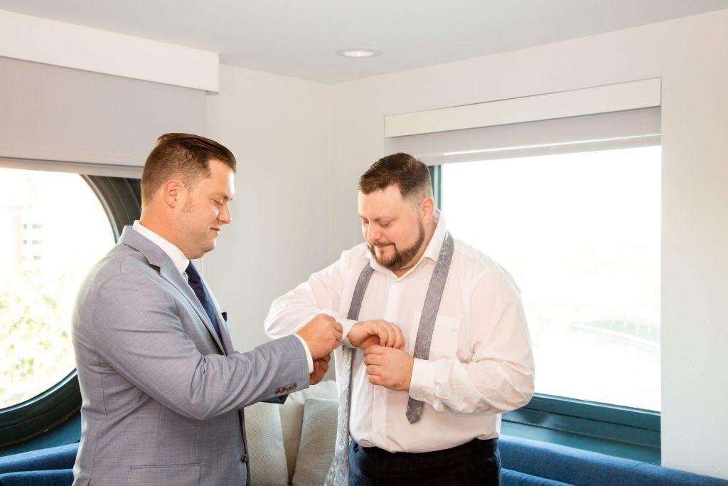 Disney Wedding - Just Marry Weddings - David and Vicki Arndt Photography - Getting Ready