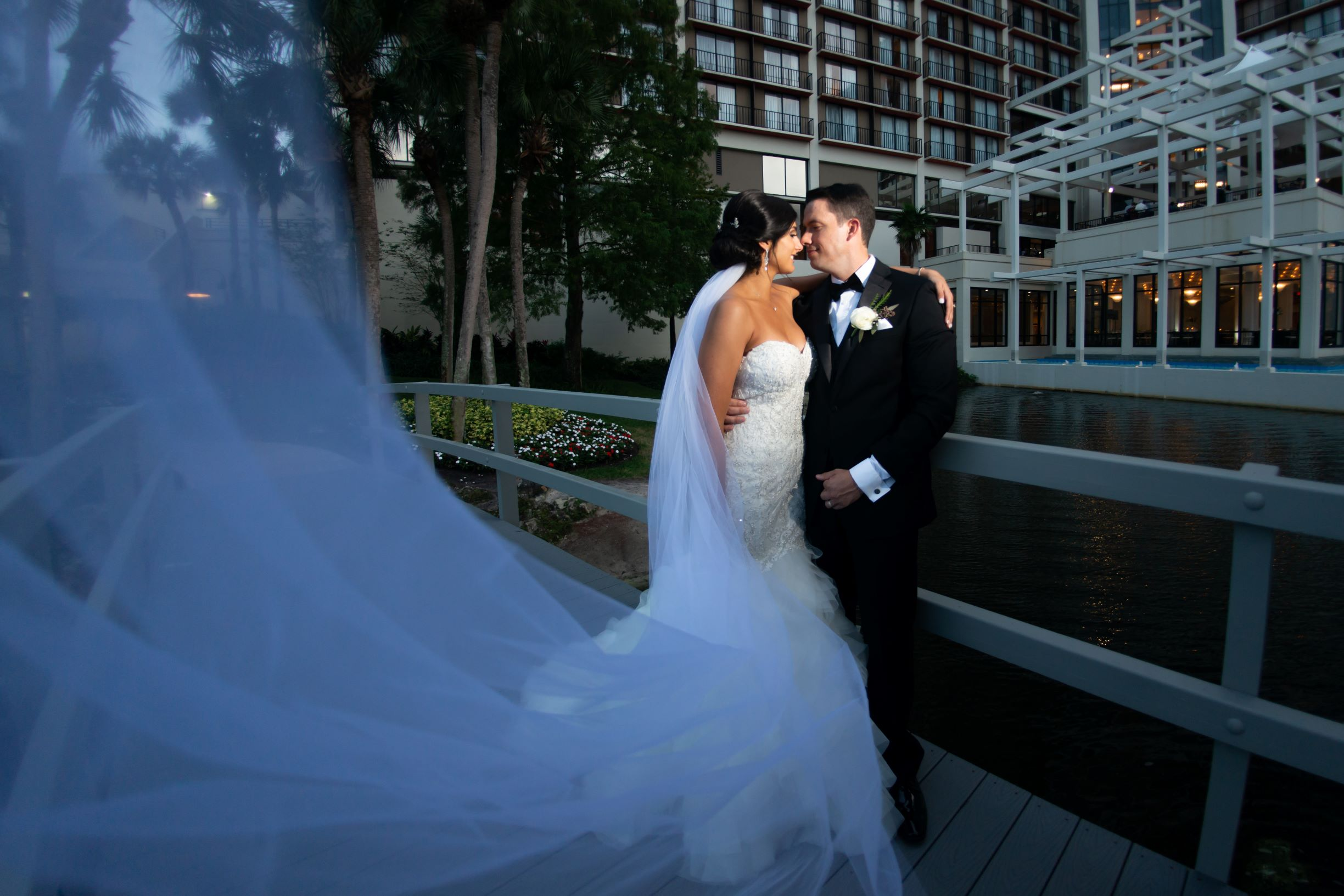 Disney Wedding Venues | Nicole and Kyle at the Hyatt Regency Grand Cypress