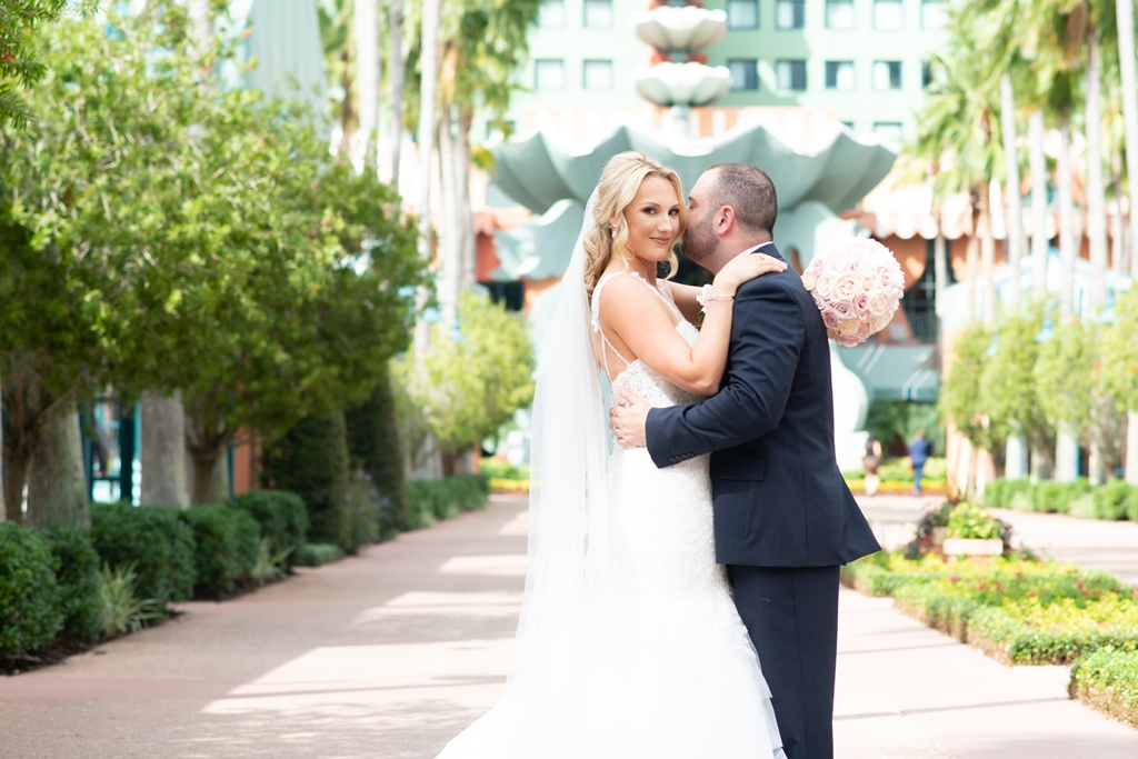 Disney Wedding in Orlando | The Swan and Dolphin Wedding of Amy and Corey