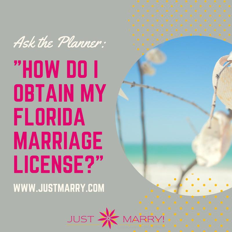 How Do I Get a Florida Marriage License? - Orlando Wedding Planners ...