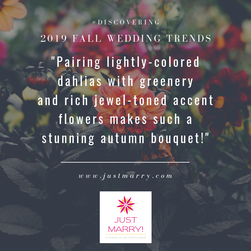 Fall Wedding Trends Quote - Just Marry Weddings