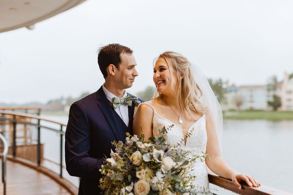 February Wedding | Emily and Rudy at Paddlefish Disney Springs