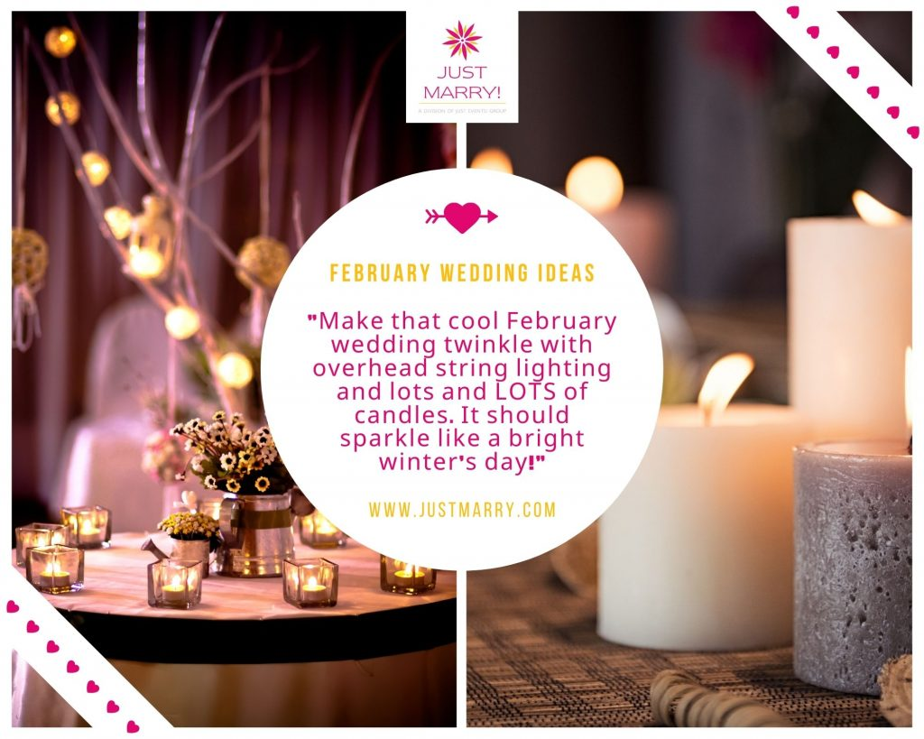 February Wedding - Just Marry Weddings