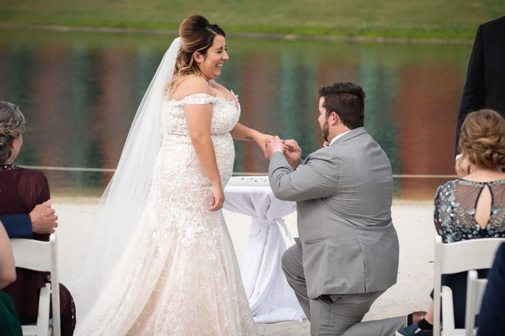 Florida Beach Wedding - Just Marry Weddings - Nova Imagery - Wedding Ceremony