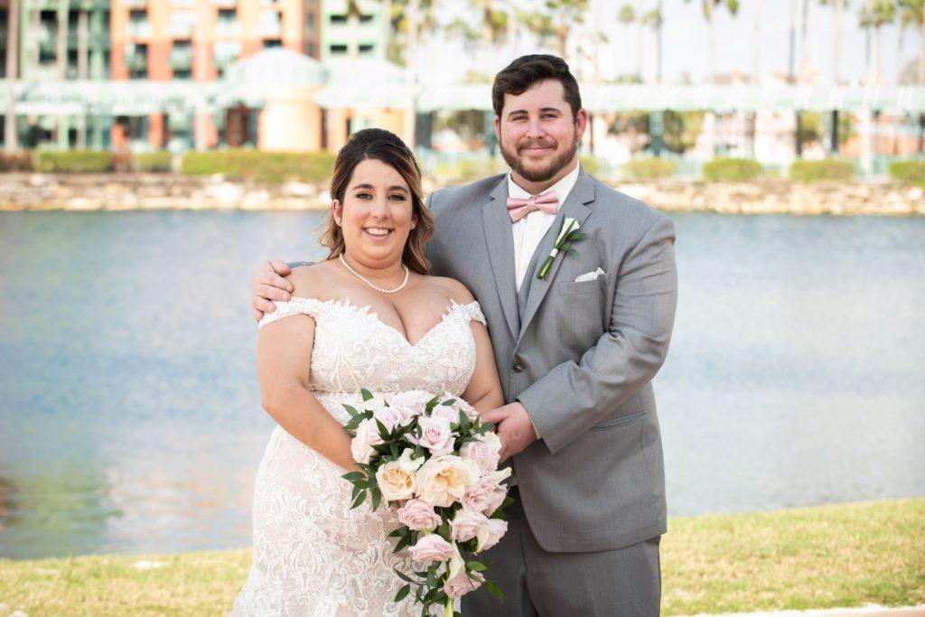 Florida Beach Wedding - Just Marry Weddings - Nova Imagery - Bride and Groom