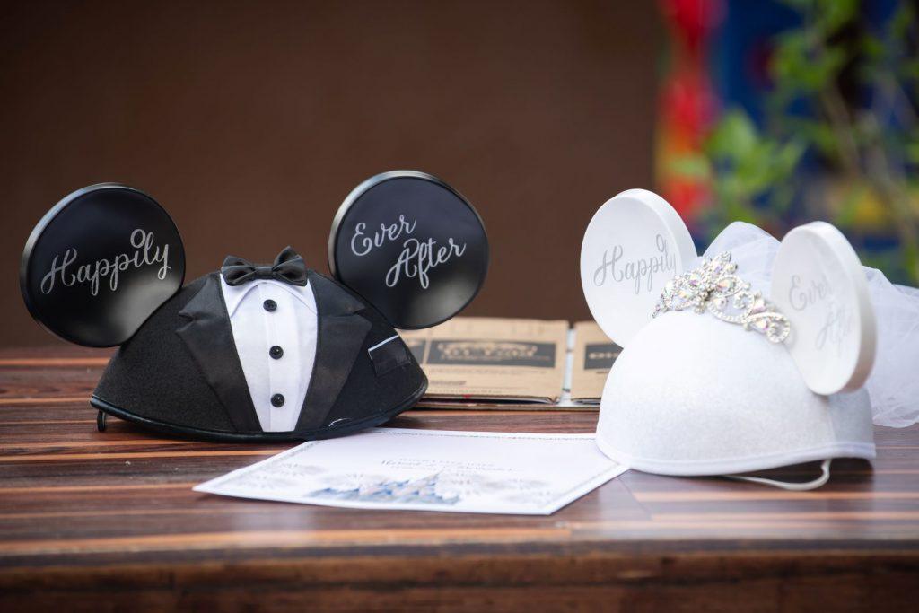 Florida Beach Wedding - Just Marry Weddings - Nova Imagery - Mickey and Minnie Ears