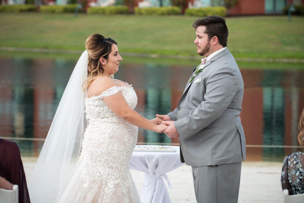 Florida Beach Wedding - Just Marry Weddings - Nova Imagery - Ceremony