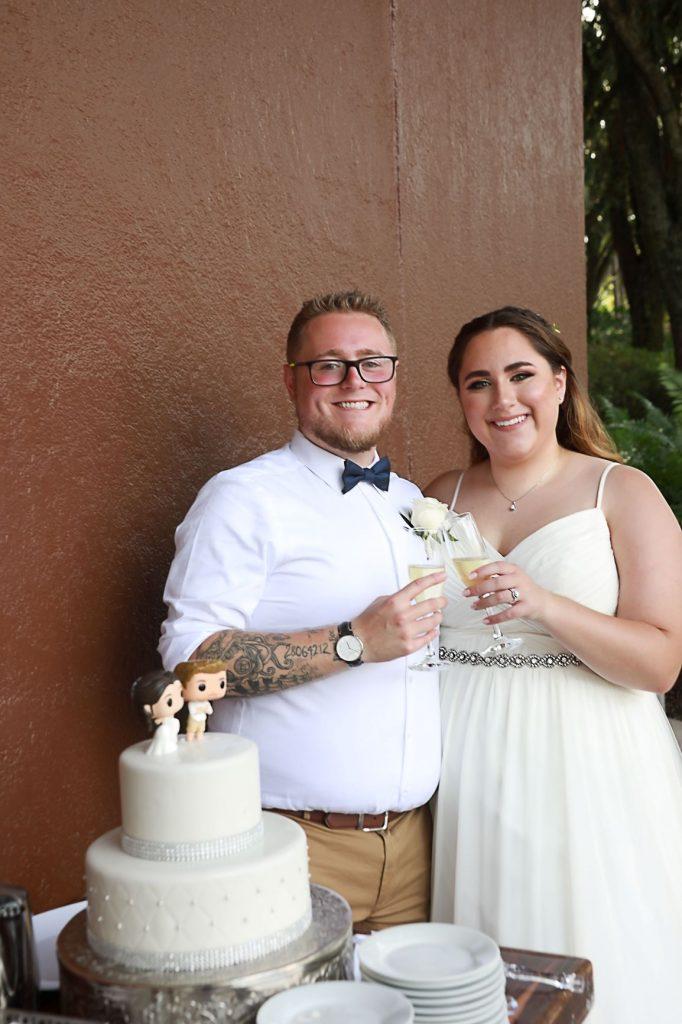 Florida Beach Wedding - Just Marry Weddings - Swan Resort - Chapman Photography