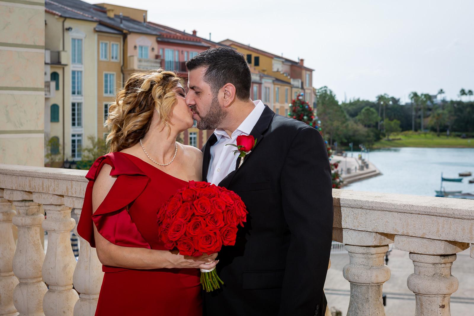 Florida Vow Renewal | Karina and Juan's Portofino Ceremony