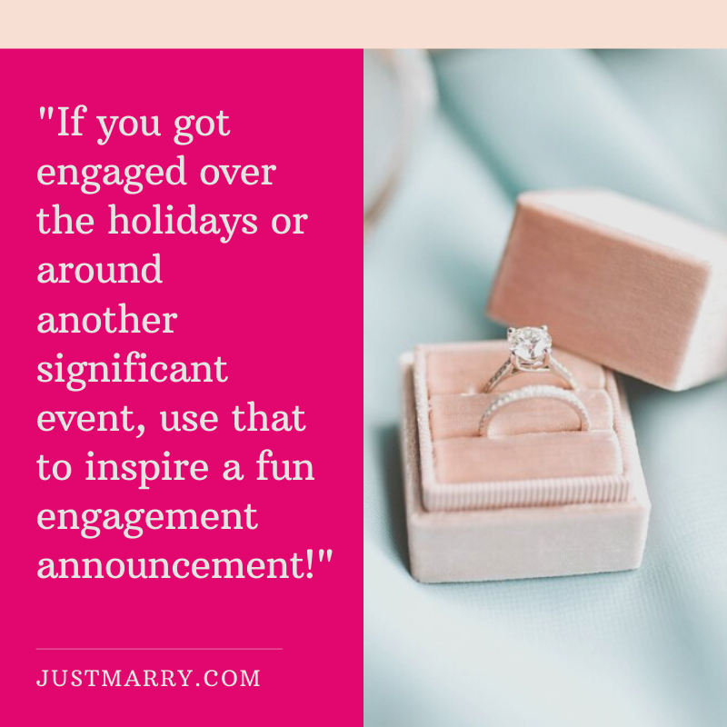 Fun Engagement Announcement Ideas - Just Marry Weddings - Nate Puhr