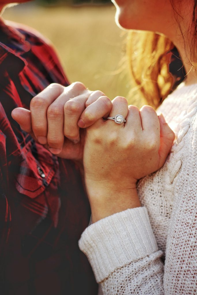 Fun Engagement Announcement Ideas - Ring Pic - Just Marry Weddings