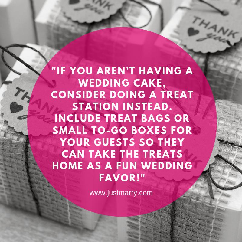 Fun Wedding Favors - Just Marry Weddings
