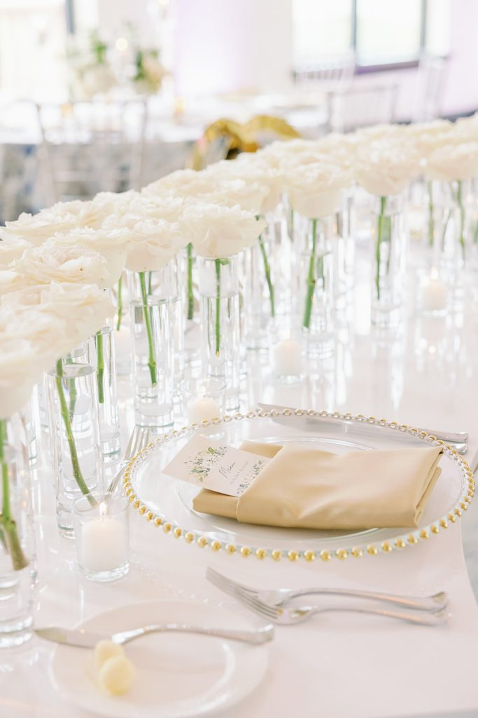 Glam Wedding Theme - Just Marry Weddings - KMD Photo and Film - Table