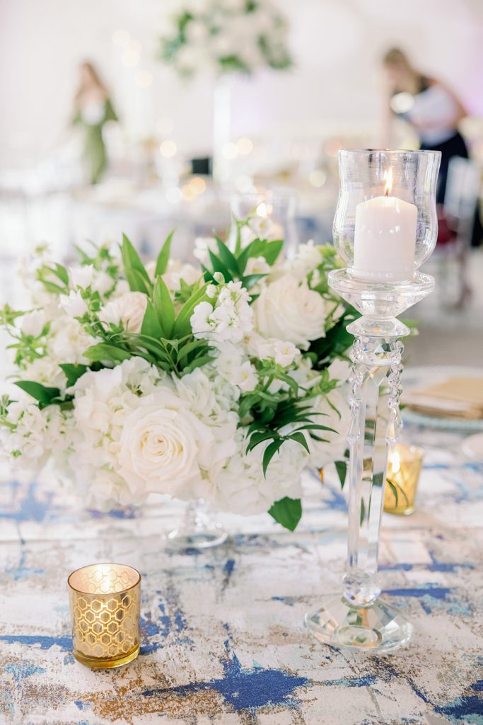 Glam Wedding Theme - Just Marry Weddings - KMD Photo and Film - Centerpieces