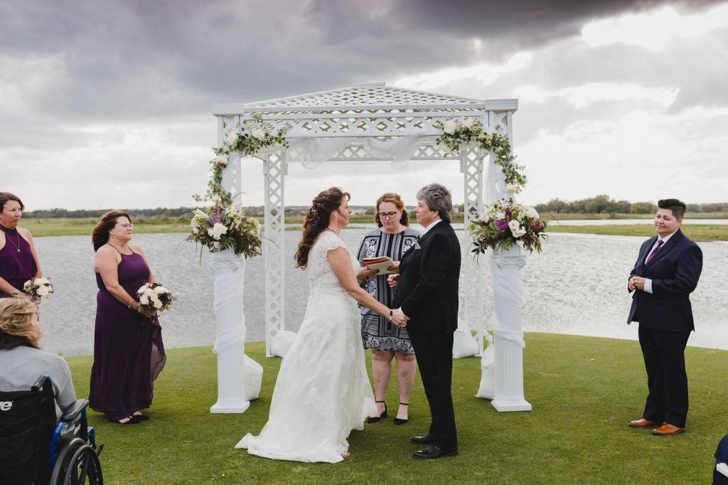 Golf Course Wedding - Just Marry Weddings - Angels Kiss Photography
