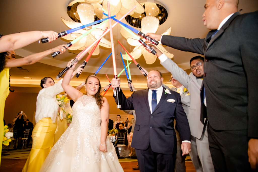 Grey and Yellow Wedding - Just Marry Weddings - Al Dee Productions - Omni Orlando Resort