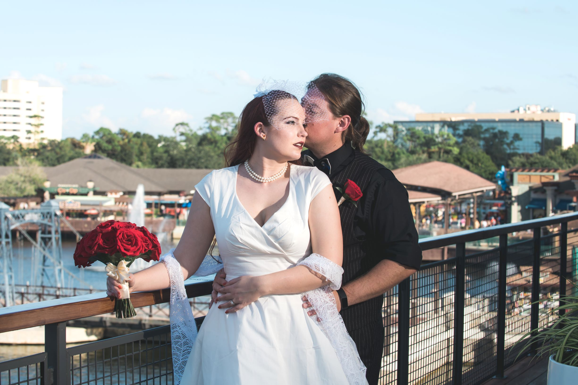 Halloween in Orlando | The Paddlefish Wedding of Nicole and Cory