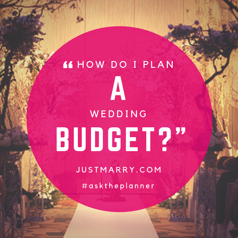 how to plan a wedding budget orlando wedding planners just marry