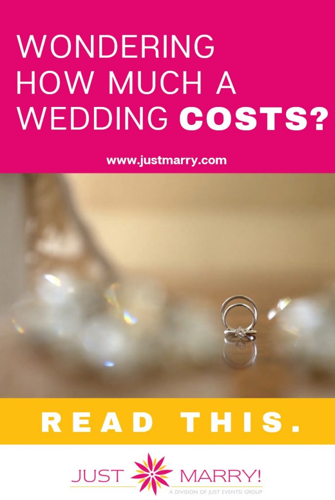How Much a Wedding Costs - Just Marry Weddings