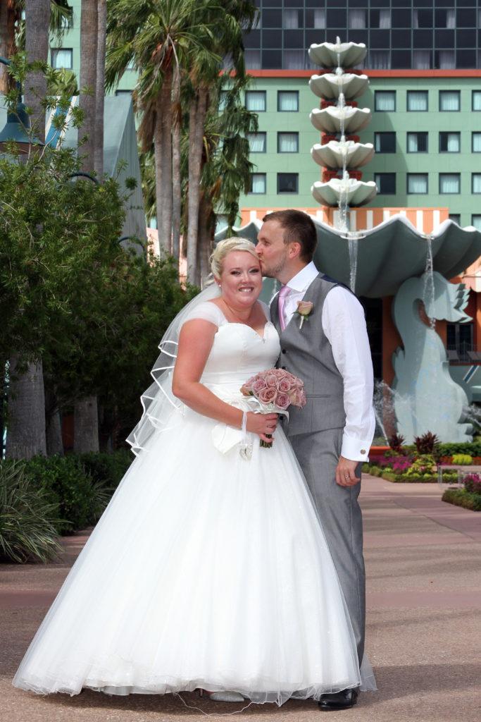 Walt Disney Swan and Dolphin Resort Wedding