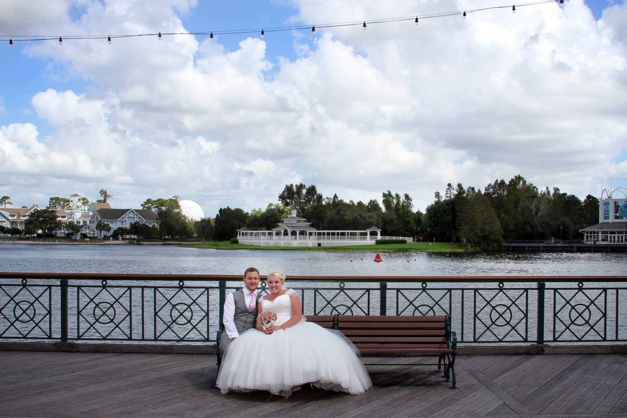 Swan and Dolphin Disney Wedding | April and Michael