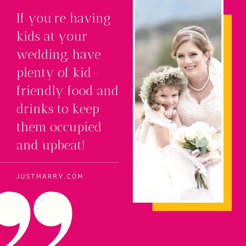 Inviting Kids to Weddings - Just Marry Weddings