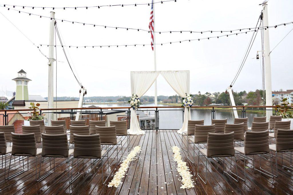 January Wedding - Just Marry Weddings - Regina Hyman Photo - Paddlefish - Ceremony