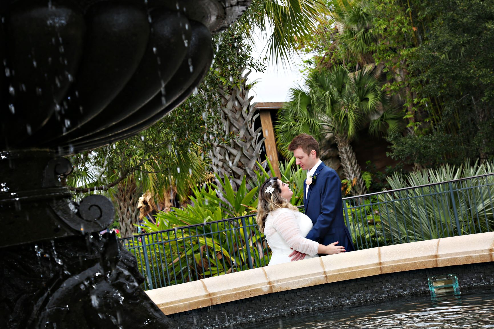 Timeless January Wedding   Jessica and Curtis at Paddlefish Disney Springs