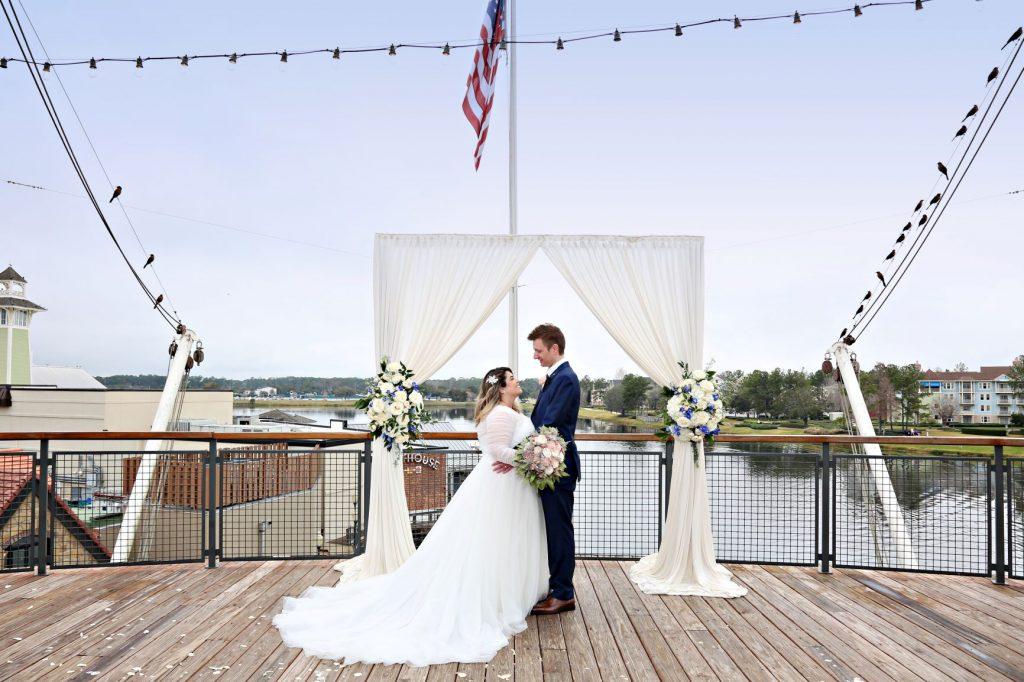January Wedding - Just Marry Weddings - Regina Hyman Photo - Paddlefish - Portrait