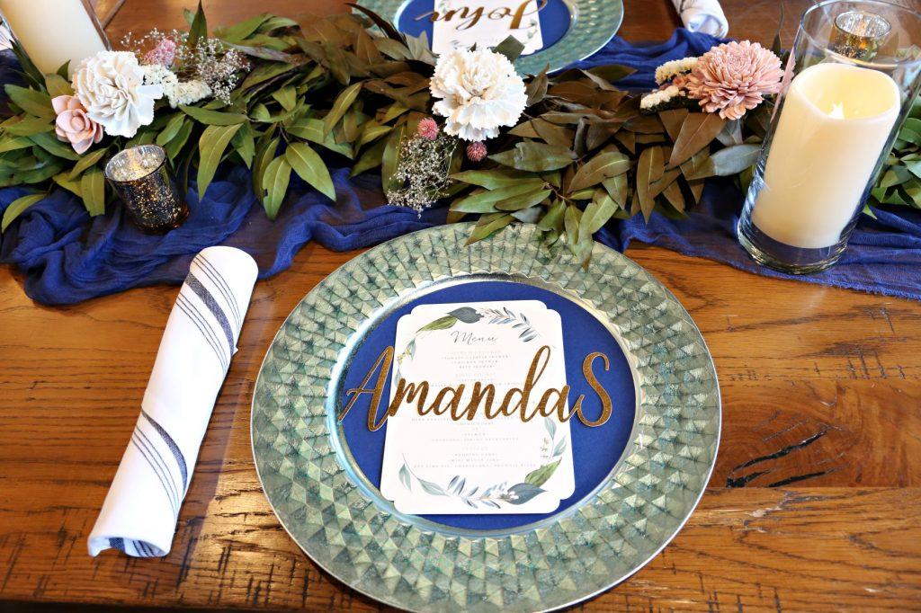 January Wedding - Just Marry Weddings - Regina Hyman Photo - Paddlefish - Reception Decor