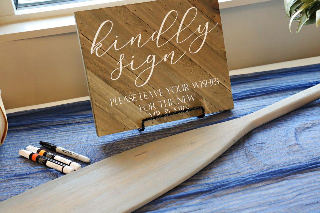 January Wedding - Just Marry Weddings - Regina Hyman Photo - Paddlefish - Guest Book