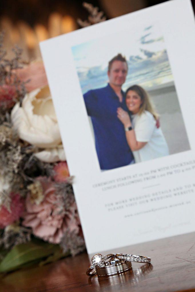 January Wedding - Just Marry Weddings - Regina Hyman Photo - Paddlefish - Rings