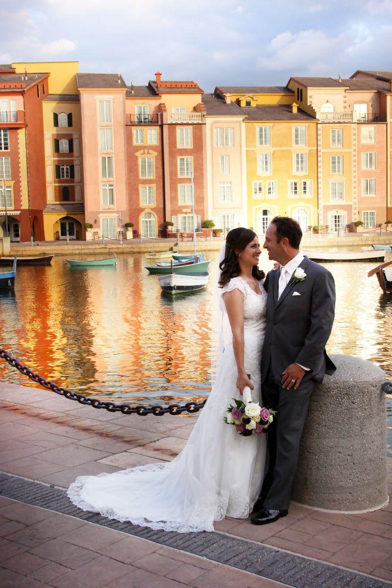 Portofino Bay Hotel Wedding Orlando | Katrina and Michael