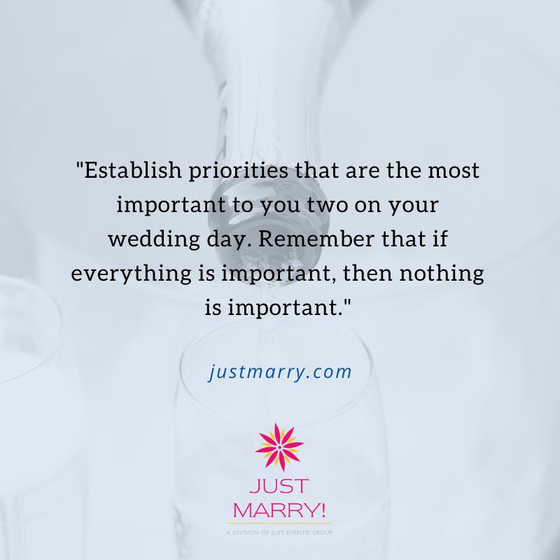 Last Minute Wedding Planning - Just Marry Weddings