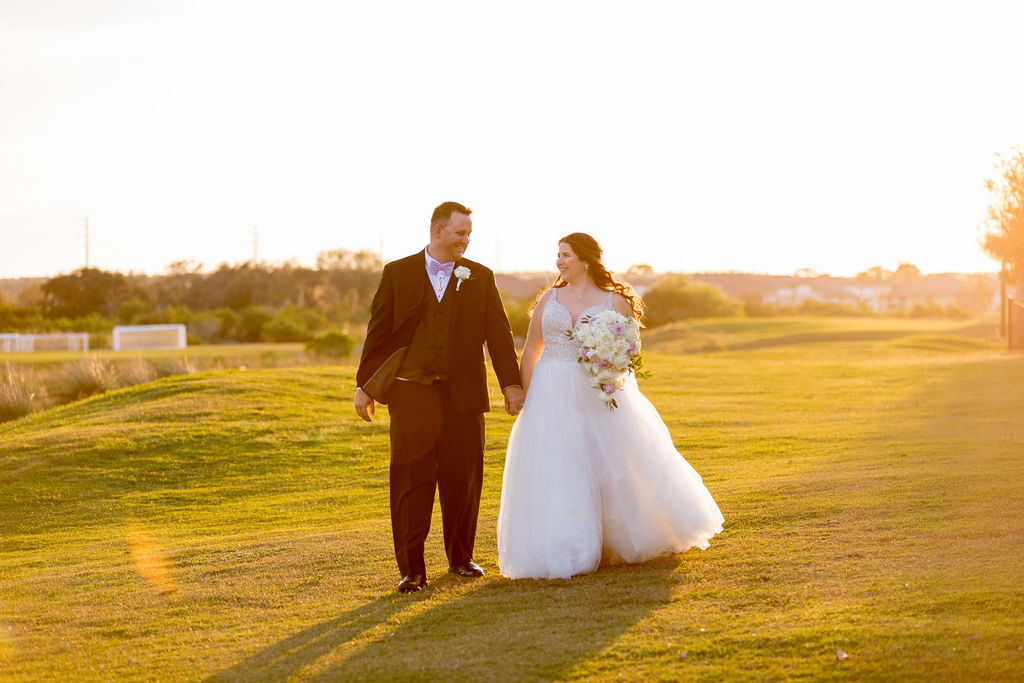Lawn Wedding | Kristen and Chris at the Omni Orlando Resort