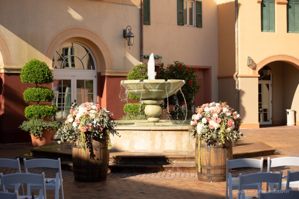 Loews Portofino Hotel - Just Marry Weddings - Corner House Photography
