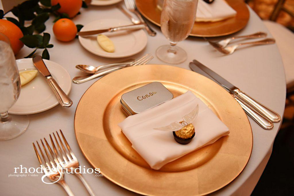 Luxury Wedding Chargers - Just Marry Weddings - Rhodes Studios