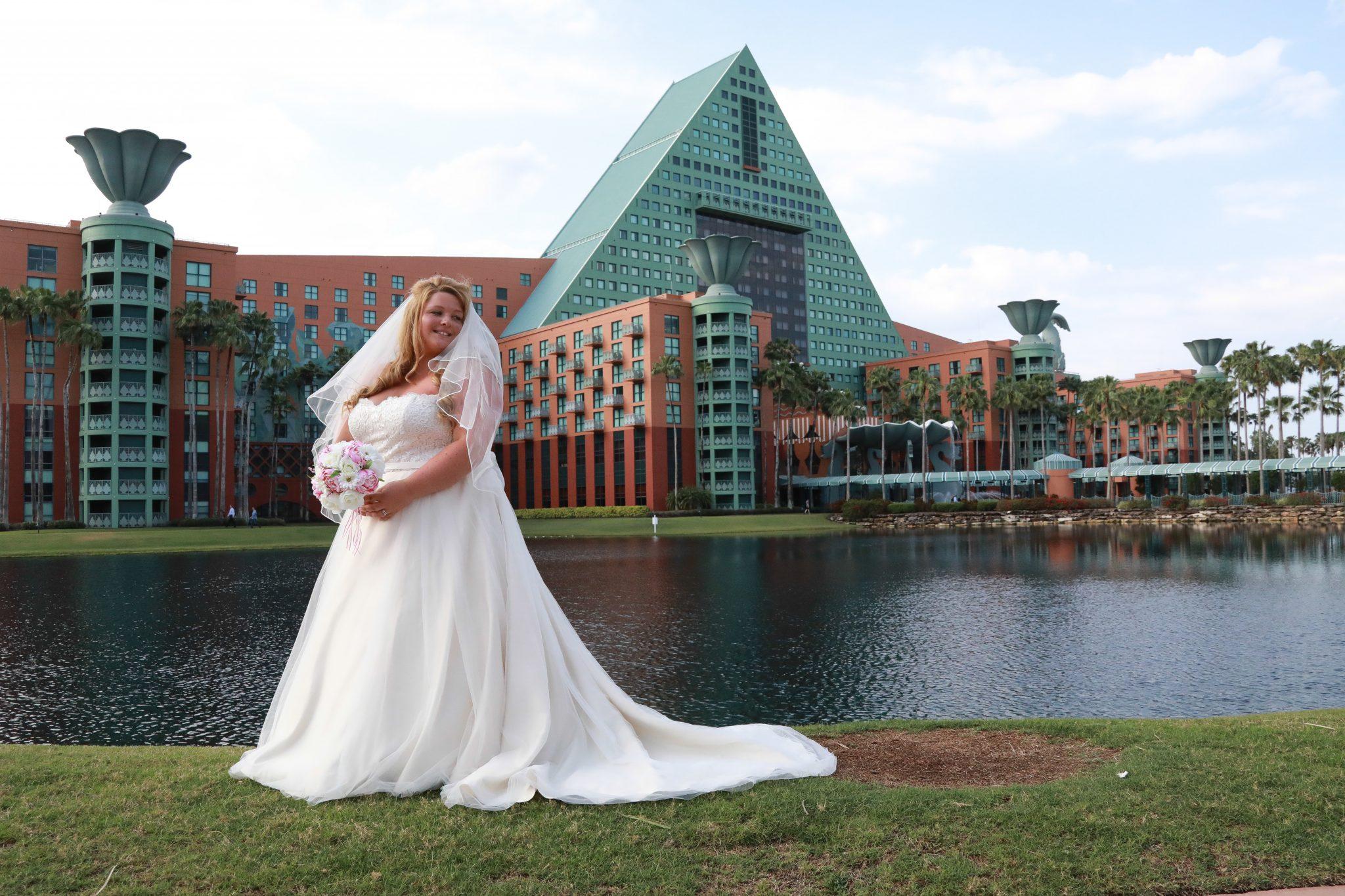 Swan and Dolphin Disney Wedding | Megan and Jack