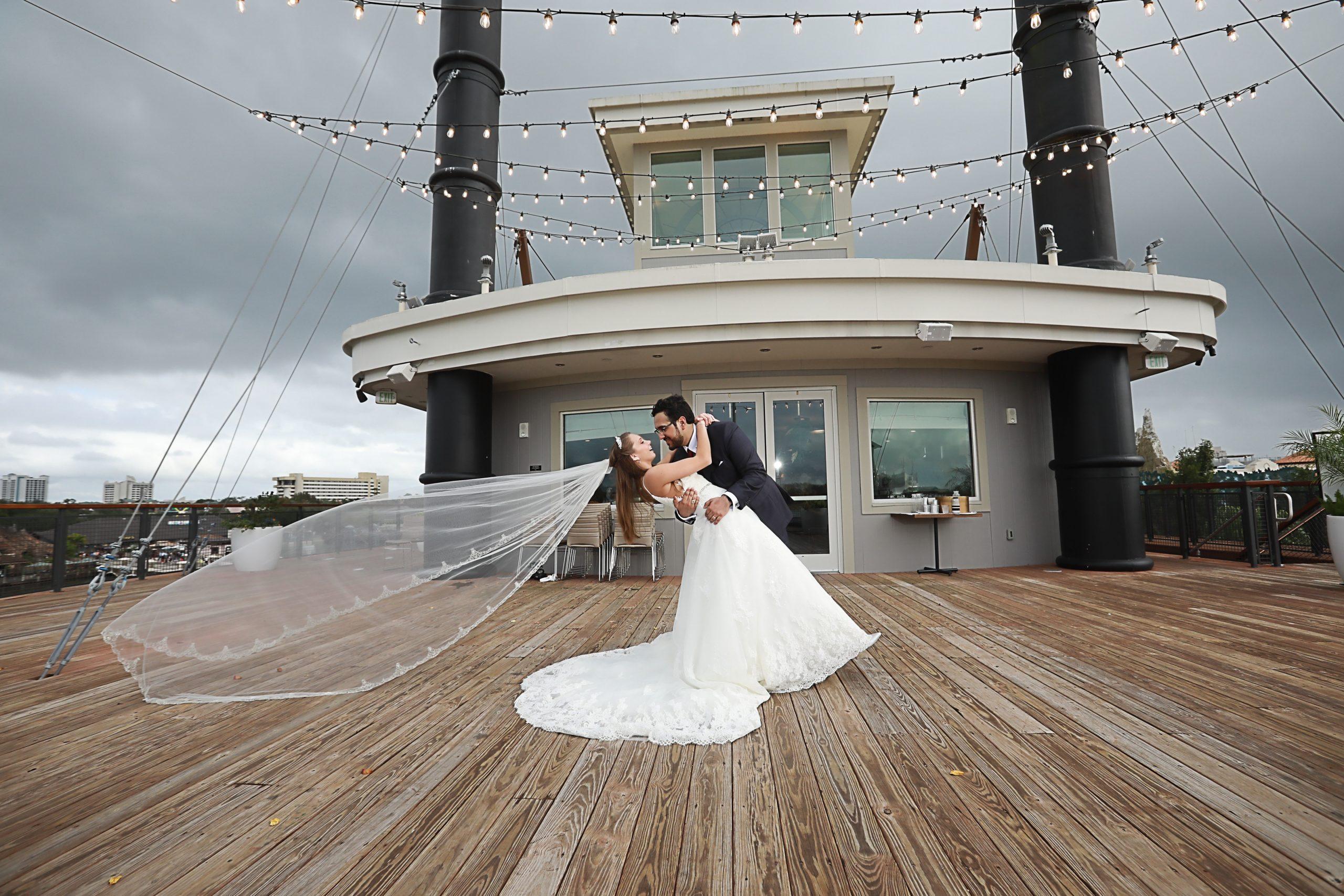Mary Poppins Theme | The Paddlefish Wedding of Sydney and Frederico
