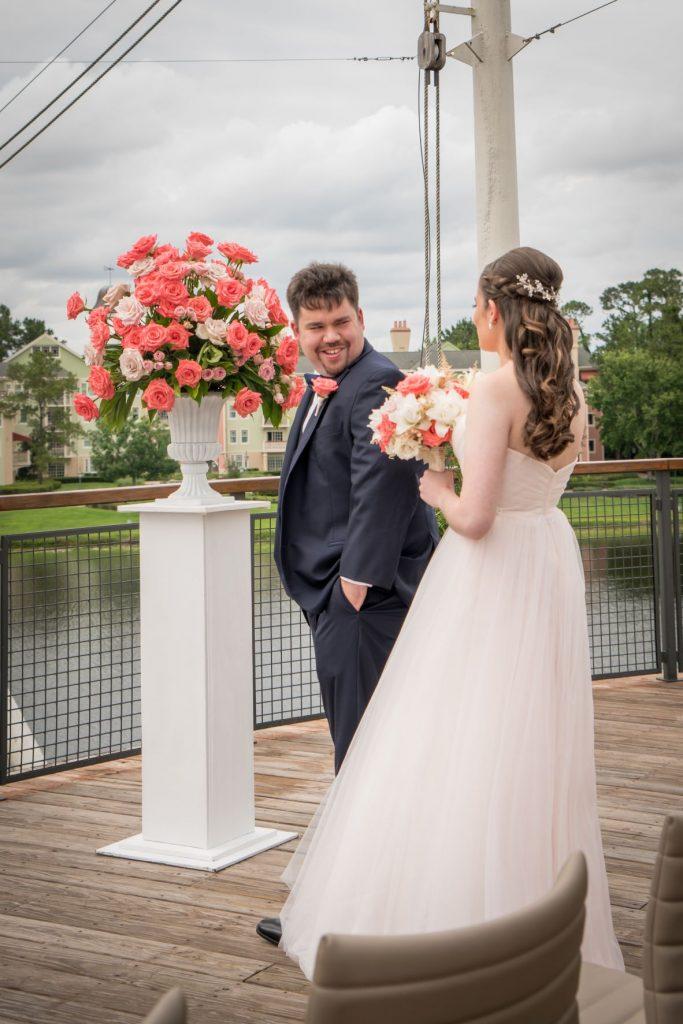 Micro Wedding - Just Marry Weddings - PB&J Studios - First Look