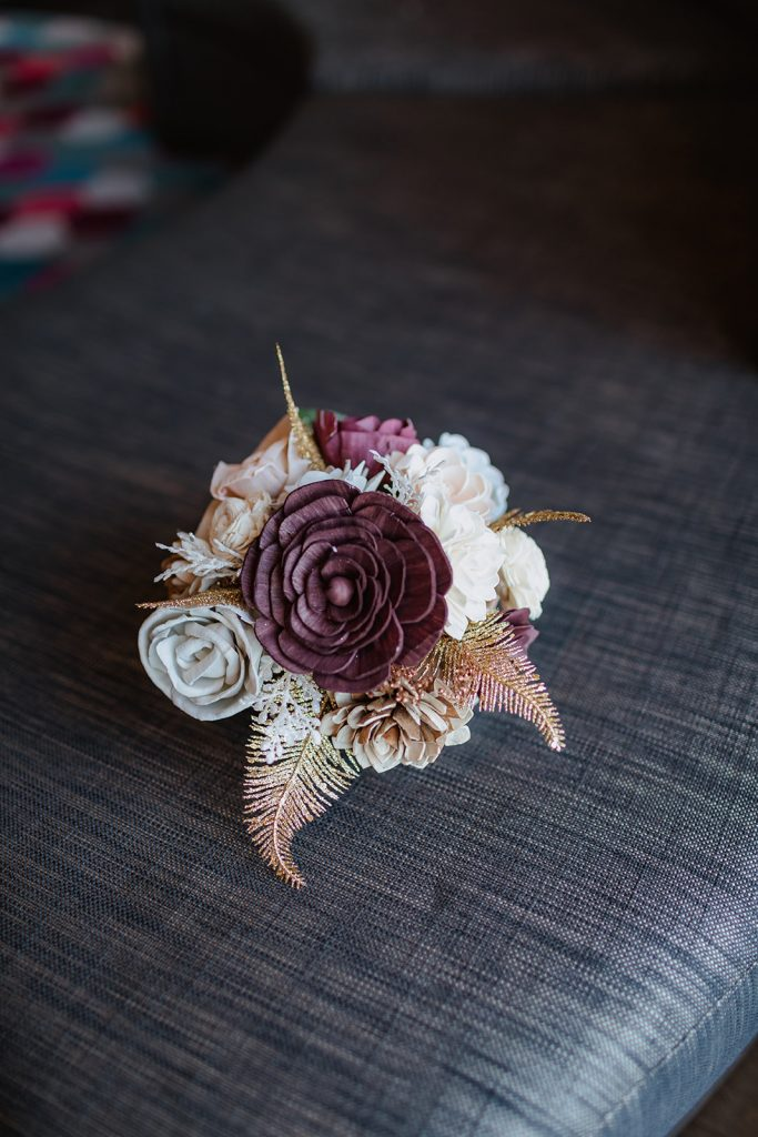 Micro Wedding - Just Marry Weddings - Thirty-Three and a 3rd Photography - Boutonniere