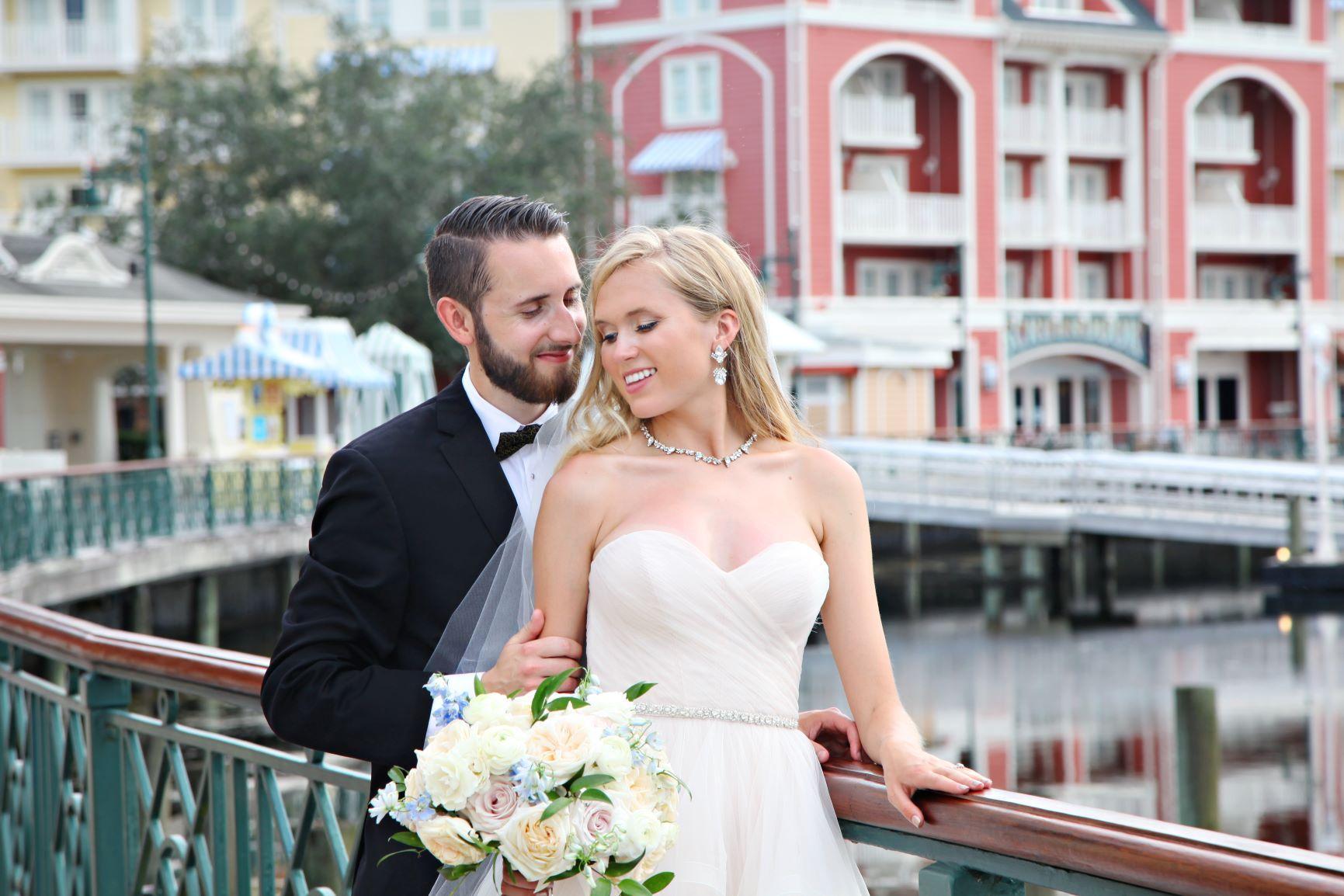 Sweet June Micro Wedding   Molly and Bo at Paddlefish Disney Springs