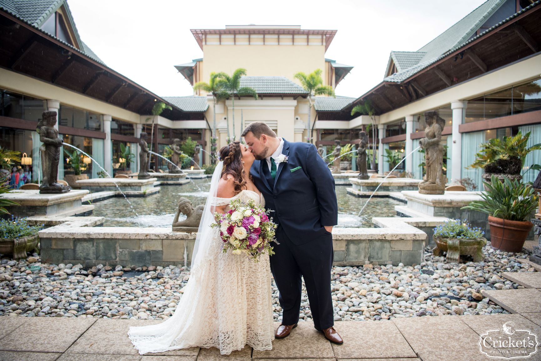 Movie Wedding Theme | Ashley and Andrew at the Royal Pacific Resort
