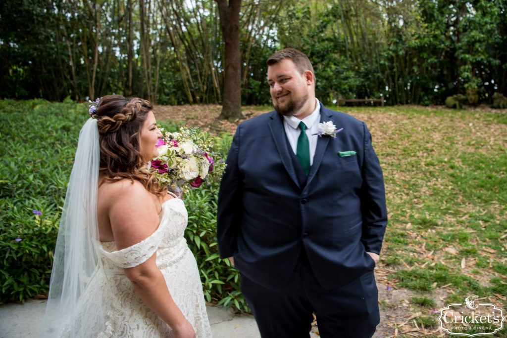 Movie Wedding Theme - Just Marry Weddings - Cricket's Photography - Royal Pacific Resort Wedding - First Look 3