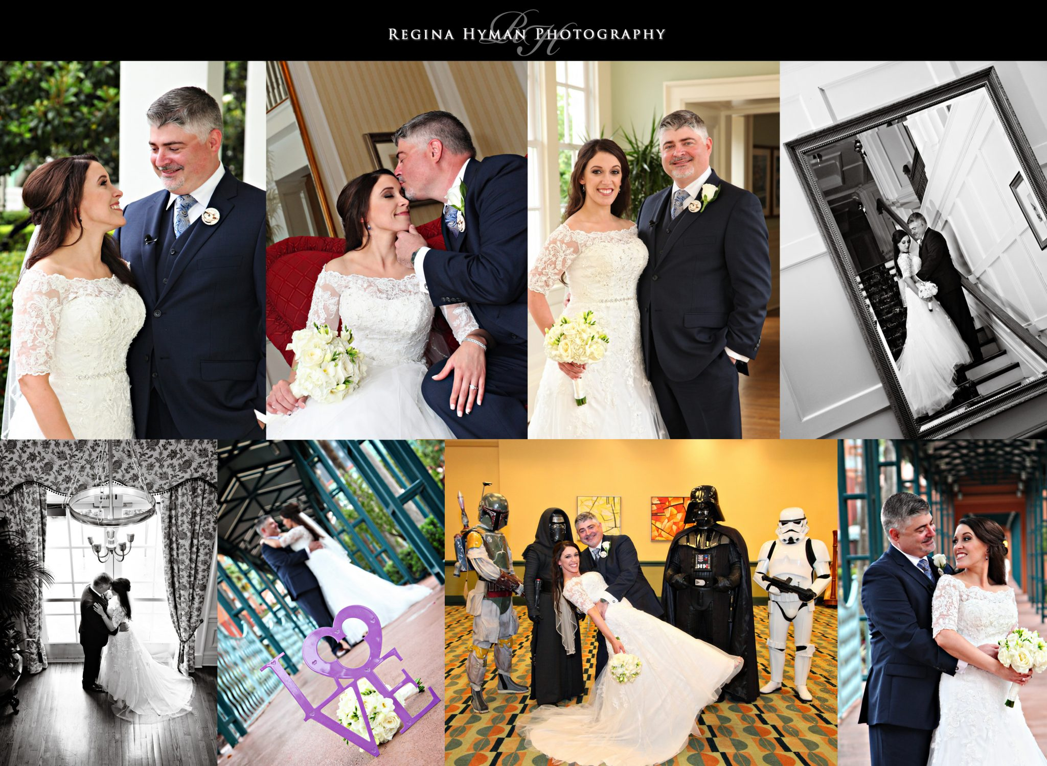 Swan and Dolphin Disney Wedding | Natalie and John