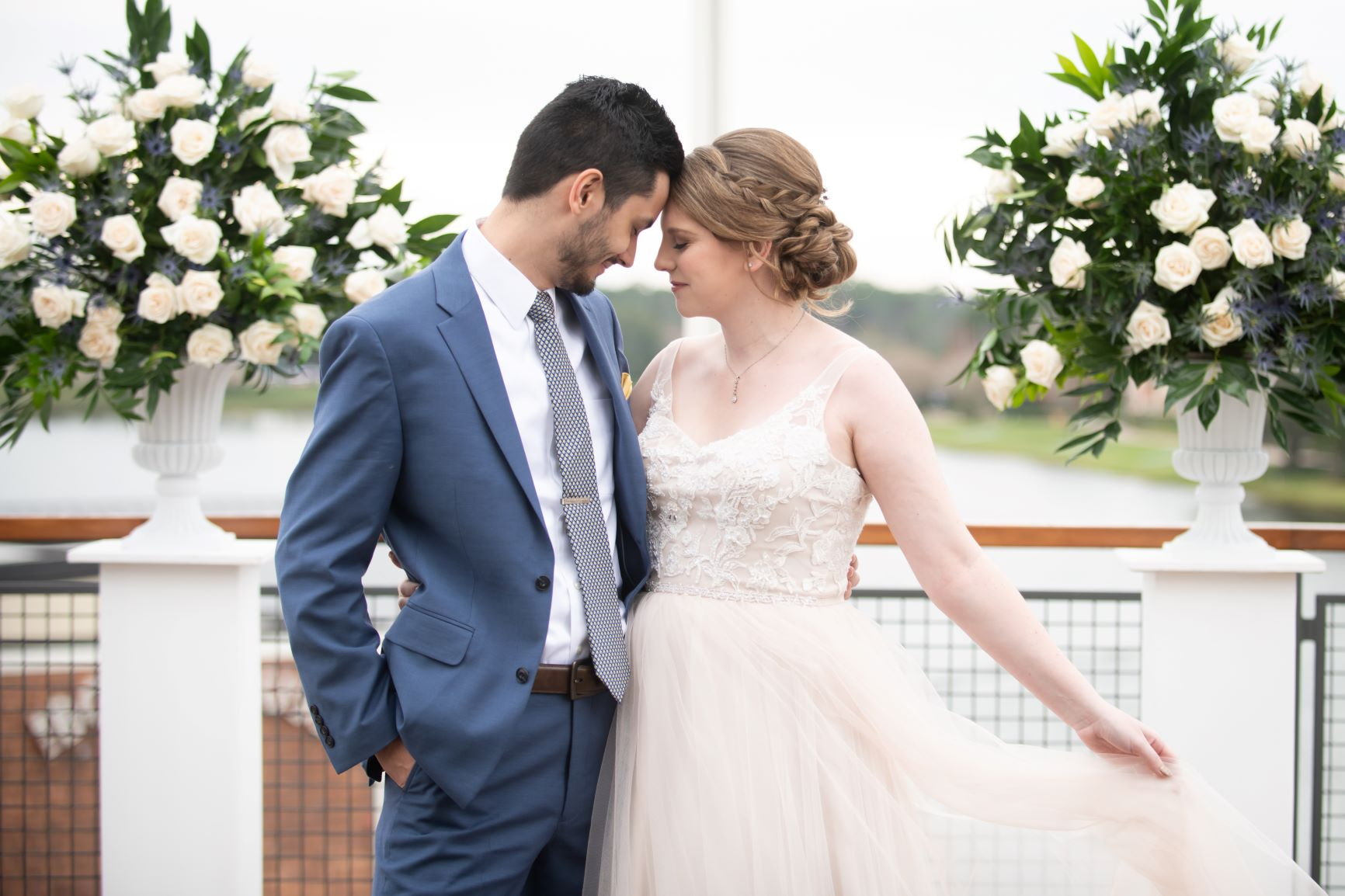 Nautical Wedding | Janna and Jonathan at Paddlefish Disney Springs