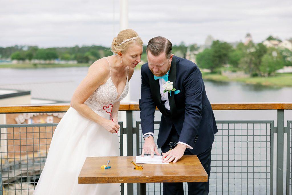 Nautical Wedding - Just Marry Weddings - KMD Photo and Film - Unity ceremony