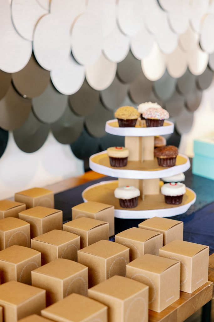 Nautical Wedding - Just Marry Weddings - KMD Photo and Film - Cupcakes